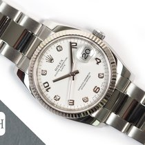 Rolex Oyster Perpetual Date Steel 34mm White