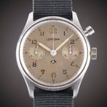 Lemania First Series with Fat Arrow MOD Dial Vintage 1945 pre-owned
