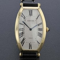 Cartier Tonneau Yellow Gold Cartier Paris Tonneau Cintrée 1990 brukt