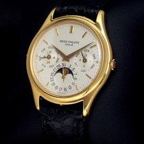 Patek Philippe Perpetual Calendar Oro amarillo 37mm Champán