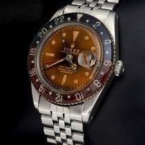 Rolex GMT-Master Steel 40mm Brown No numerals
