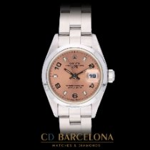 Rolex Oyster Perpetual Lady Date Steel 26mm Pink