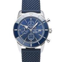Breitling Superocean Heritage II Chronographe Steel 46mm Blue