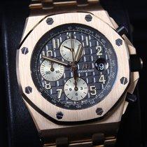 Audemars Piguet Royal Oak Offshore Chronograph Rose gold 42mm Grey Arabic numerals United States of America, New York, New York