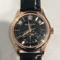 Patek Philippe Annual Calendar Rose gold 40mm Black No numerals United States of America, New York, Manhattan