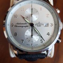 Zeno-Watch Basel Acero Automático Blanco Arábigos 42mm usados