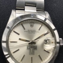 Rolex Oyster Perpetual Date Steel 34mm Silver No numerals United States of America, Texas, Houston