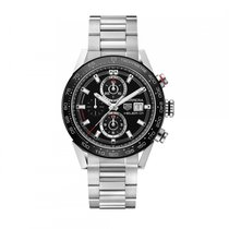TAG Heuer Carrera Calibre HEUER 01 Steel 43mm Black No numerals United States of America, Illinois, Willowbrook