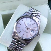 Rolex Oyster Perpetual Date Steel 34mm Silver No numerals United States of America, Illinois, Springfield