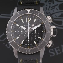 Jaeger-LeCoultre Master Compressor Diving Chronograph GMT Navy SEALs Titan 46mm Negru Arabic