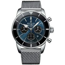 Breitling Superocean Héritage Steel 44mm Blue No numerals United States of America, New Jersey, Edgewater