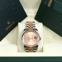 Rolex Datejust Gold/Steel 36mm Champagne United States of America, California, Beverly Hills