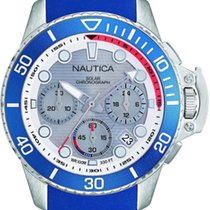 Nautica Steel 45mm Quartz NAPBSC905 new