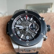 Hublot pre-owned Automatic 45mm Transparent Sapphire crystal 10 ATM