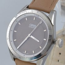 Oris new Automatic Display back Central seconds Luminous hands 37mm Steel Sapphire crystal