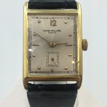 Patek Philippe Vintage Жёлтое золото Cеребро Без цифр