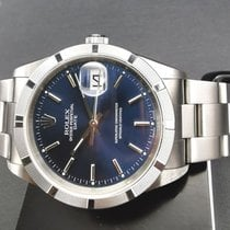 Rolex Oyster Perpetual Date Steel 34mm Blue No numerals Singapore, Singapore