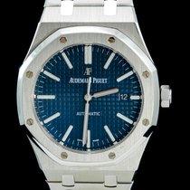 Audemars Piguet Royal Oak Selfwinding occasion 41mm Bleu Date Acier