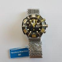 Technomarine Black Reef Aço 45.5mm Preto Sem números