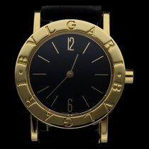 Bulgari Bulgari Or jaune 30mm Noir Arabes