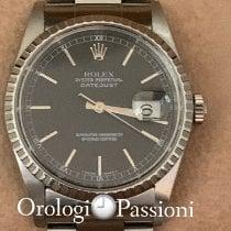 Rolex Datejust 16220 Muy bueno Acero 36mm Automático