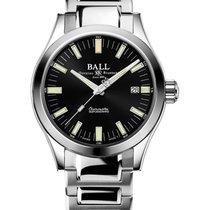 Ball Engineer M Steel 40mm Black No numerals