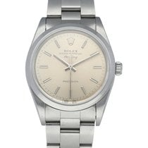 Rolex Air King Precision Steel 34mm Silver United States of America, New York, New York