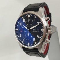 IWC Pilot Chronograph IW377709 Très bon Acier 43mm Remontage automatique
