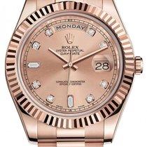 Rolex Day-Date II Rose gold 41mm Gold