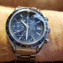 Omega Speedmaster Date Steel 40mm Blue United States of America, Illinois, Berwyn