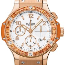 Hublot Big Bang Tutti Frutti Ouro rosa 41mm Branco