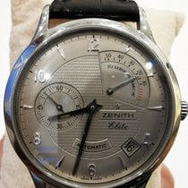 Zenith Elite Power Reserve Steel Arabic numerals