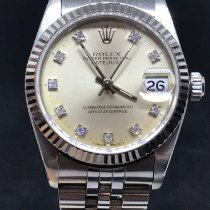 Rolex Lady-Datejust tweedehands 31mm Zilver Datum Staal