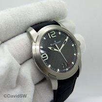Blancpain L-Evolution Steel 43.5mm Black Arabic numerals