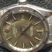 Rolex Oyster Perpetual Date Acier 34mm Argent Sans chiffres