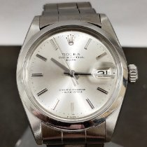 Rolex Oyster Perpetual Date Acero 34mm Plata Sin cifras
