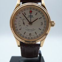 Oris Yellow gold Automatic Champagne Arabic numerals 36mm pre-owned