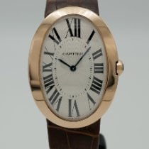Cartier Baignoire Rose gold 44mm Silver Roman numerals United States of America, California, Marina Del Rey