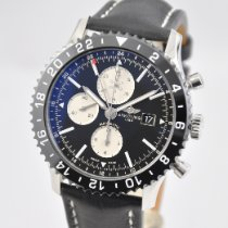 Breitling Chronoliner Steel 46mm Black United States of America, Ohio, Mason