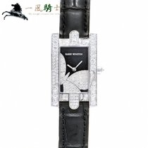 Harry Winston Avenue pre-owned 36mm Black Leather