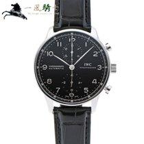 IWC Portuguese Chronograph Zeljezo 41mm Crn
