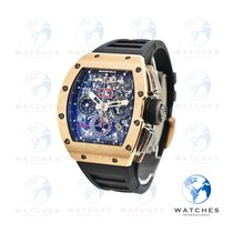 Richard Mille RM 011 Rose gold Transparent United States of America, New York