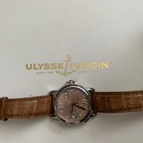 Ulysse Nardin Dual Time pre-owned 36mm Leather
