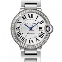 Cartier Ballon Bleu 33mm Steel 33mm Silver Roman numerals United States of America, California, Los Angeles