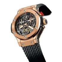 Hublot Bigger Bang Rose gold 44mm Transparent No numerals