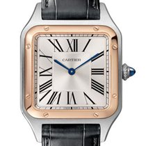 Cartier Santos Dumont Steel 43.5mm Silver Roman numerals United States of America, California, Los Angeles