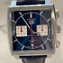 TAG Heuer Monaco Steel 39mm Blue No numerals Australia