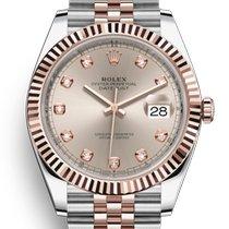 Rolex Datejust II Steel 41mm Pink No numerals