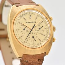 Wakmann Yellow gold 38mm Manual winding pre-owned United States of America, California, Beverly Hills