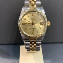 Rolex Lady-Datejust Or/Acier 31mm Or Sans chiffres France, Menton